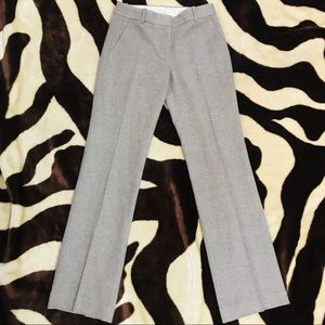 J Crew Fully Lined Wool Cafe Trouser